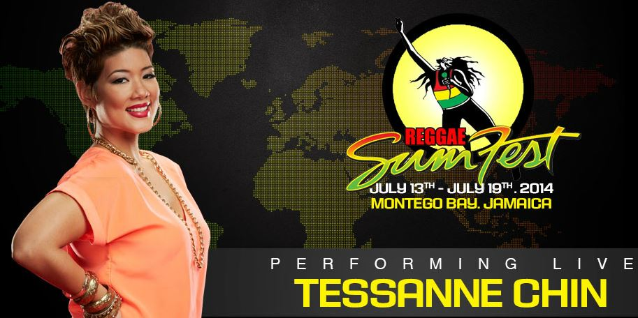 Tessanne Chinn- Sumfest Montego Bay, Jamaica 2014