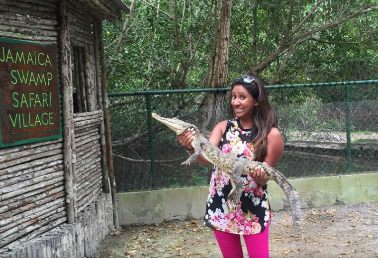 Falmouth_Swamp_Safari_Village_Tour_Crocodile